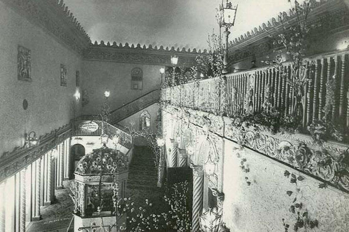 1928 - Original Foyer, Spring Pageant