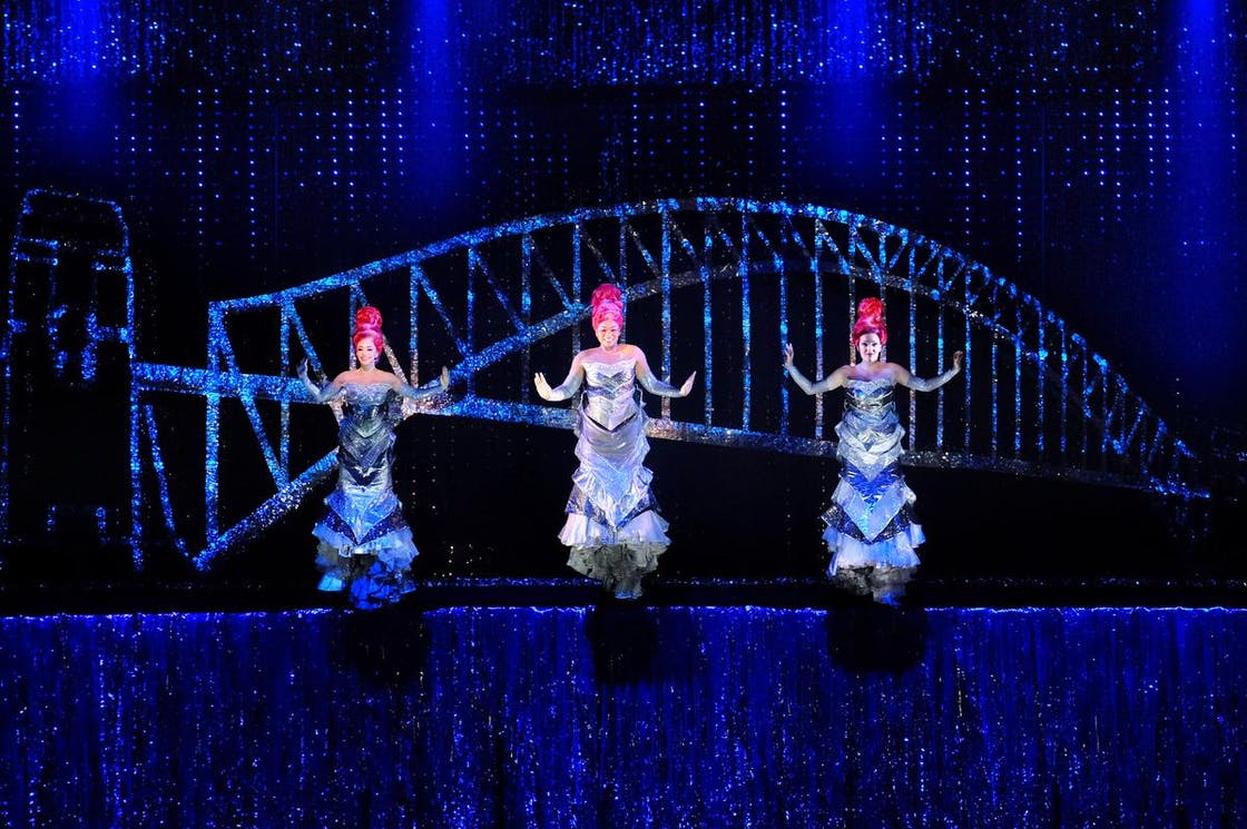 Priscilla Queen of the Desert Production Shot